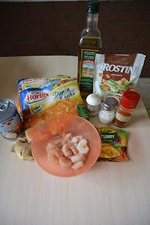 Dyniowa zupa krem z krewetkami
