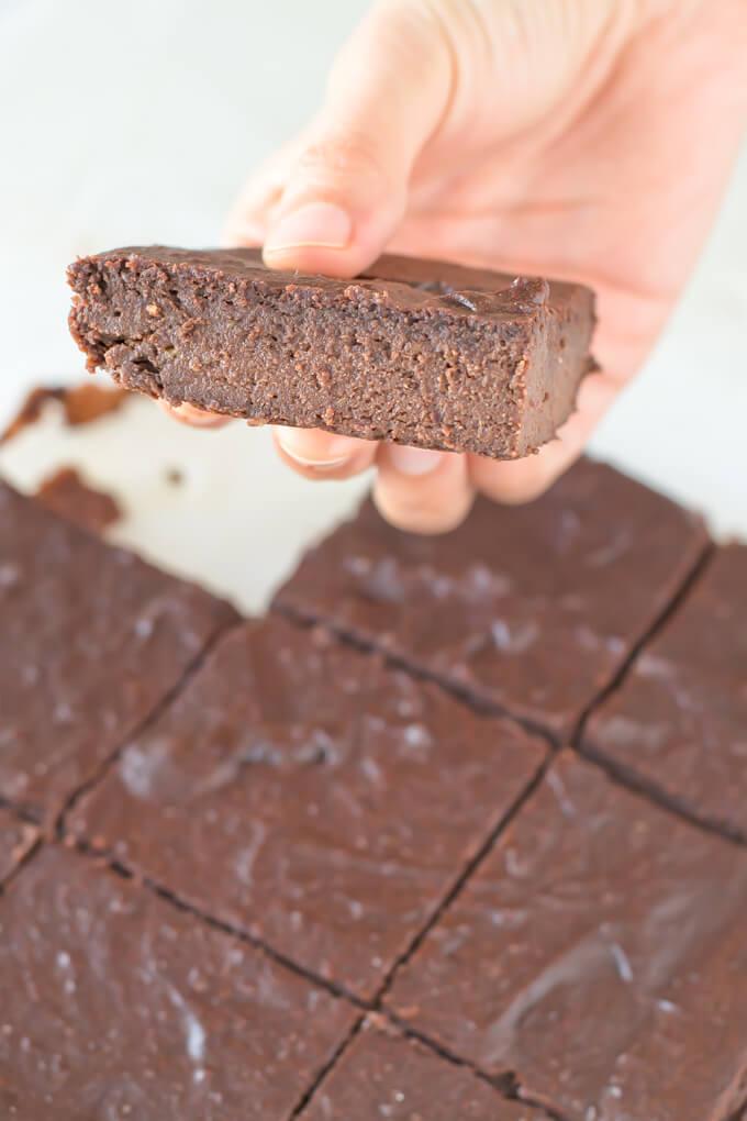 Gluten-Free Vegan Brownie step by step | danceofstoves.com