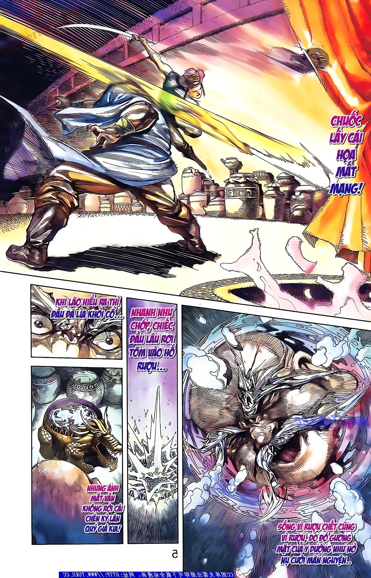 Tần Vương Doanh Chính chapter 50 trang 5