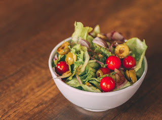 Tangy Pear and Blue Cheese Salad  and other kinds of salads recipes