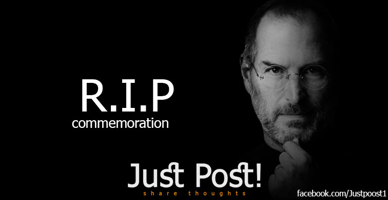 JustPost Commemorates Steve Jobs After 5 Years of His death