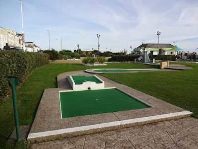 Crazy Golf at Hastings Adventure Golf