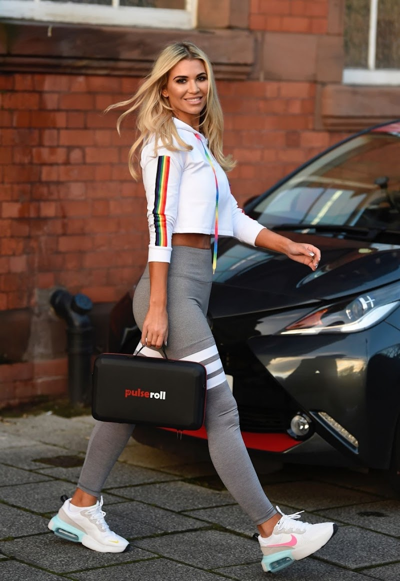 Christine McGuinness  Clicked For A Photoshoot in Manchester 14 Dec-2020