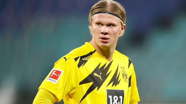 Dortmund forward Haland