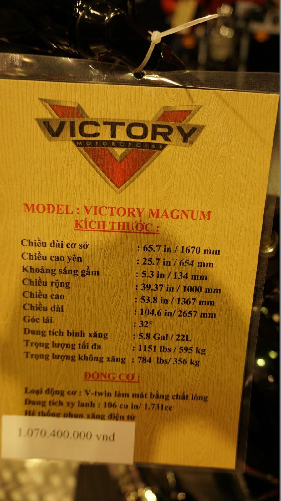 Victory Magnum