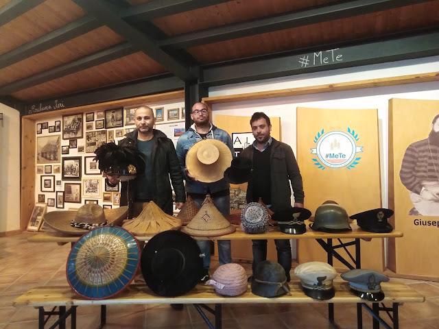 Museo #MeTe donati 292 Cappelli che raccontano i popoli del mondo