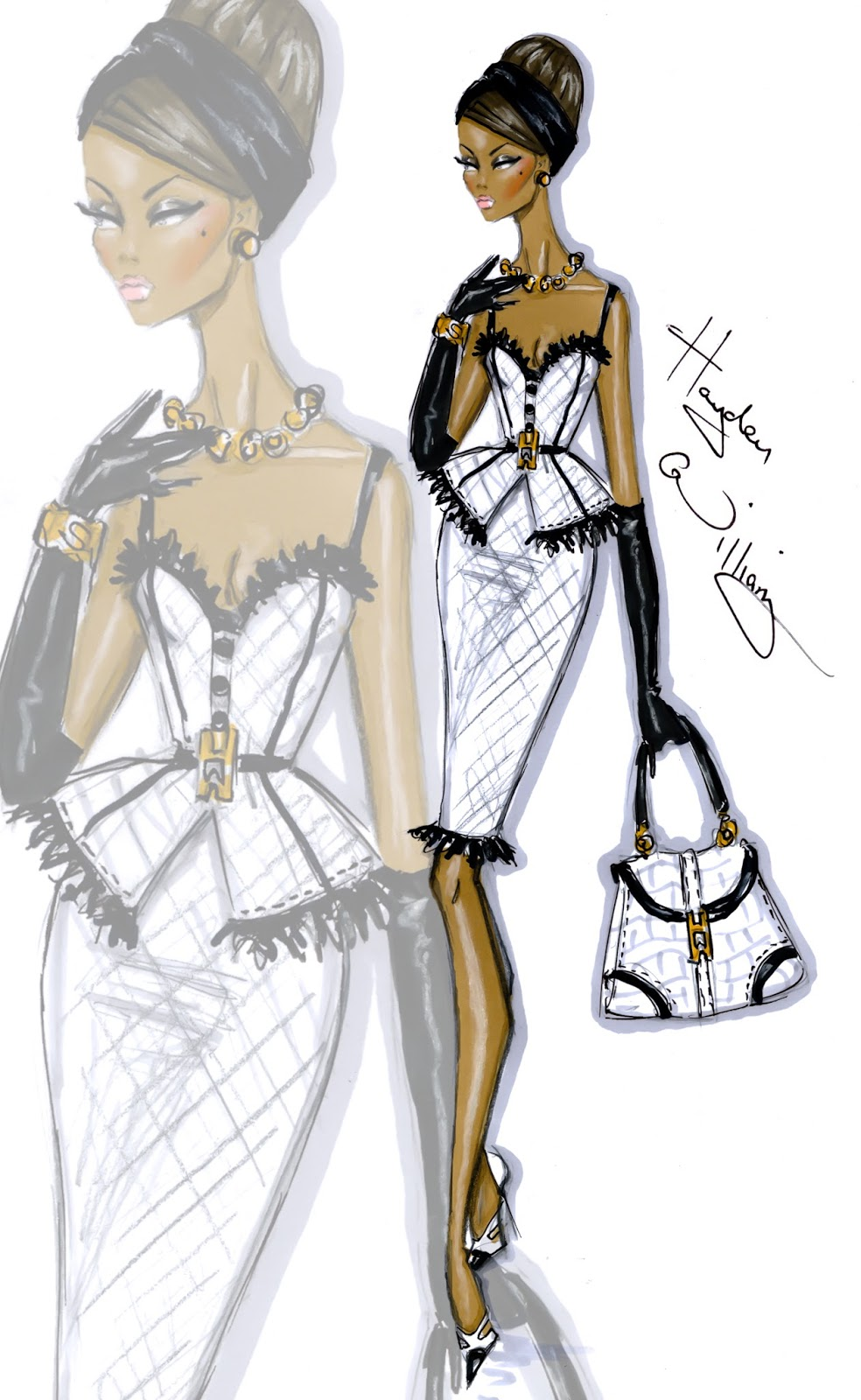 Hayden Williams Fashion Illustrations: August 2013