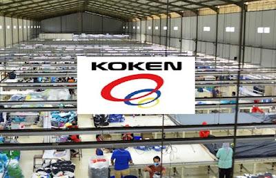 Lowongan Kerja Jobs : Merchansiser, Accounting Staff PT Koken Indonesia Membutuhkan Tenaga Baru Seluruh Indonesia