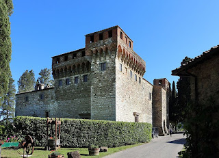 The Castello di Trebbio, the villa that was turned into a castle by architect Michelozzo Michelozzi