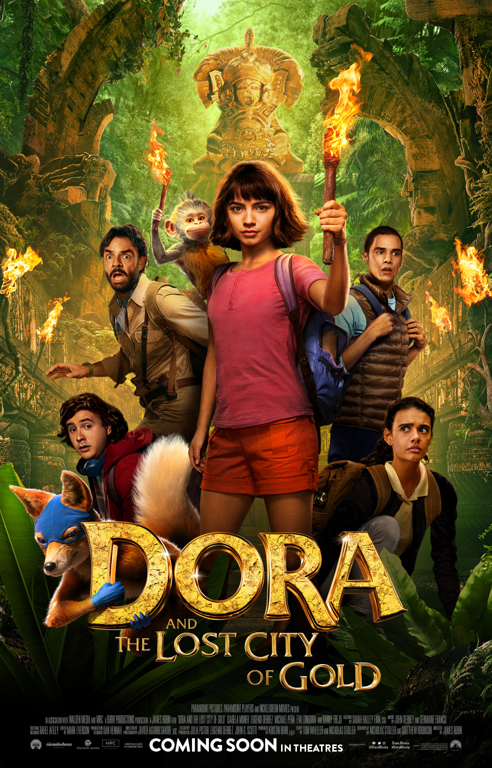 Lakwatsera Lovers Behold New Posters For Dora Once Upon