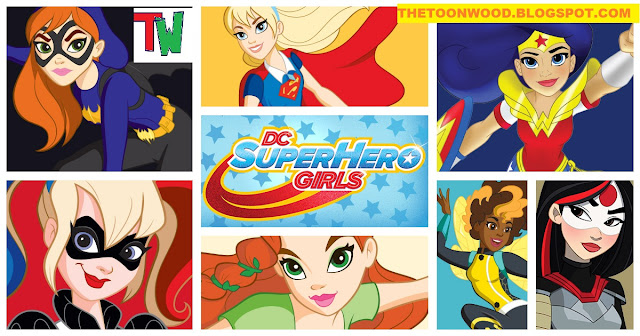 """Watch Online And Download Cartoon Network India New Show """"DC Super Hero Girls"""" Episodes In HINDI In 720p, HD Only ON TOONWOOD"""