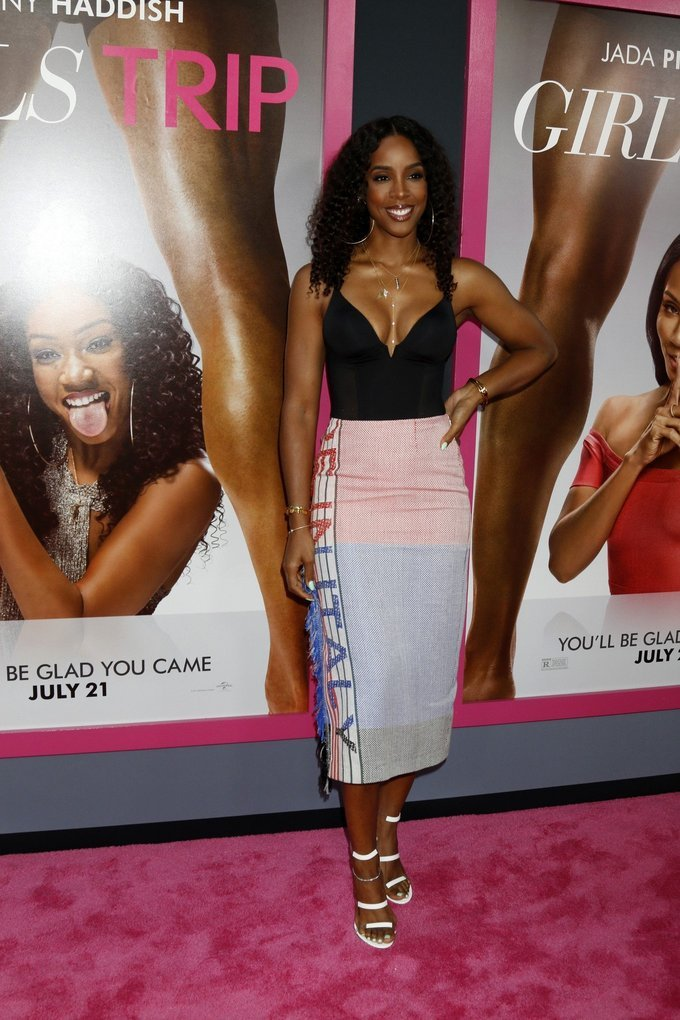 Kelly Rowland at Los Angeles Premiere of 'Girls Trip'
