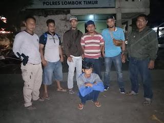 DPO Curat di SMPN 2 Wanasaba Ditangkap Polres Lotim