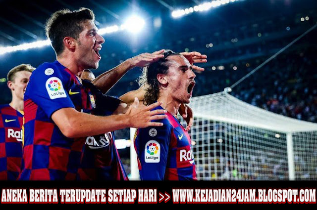 Antoine Griezmann Tampil Apik Dan Jawab Tantangan Pelatih Barcelona