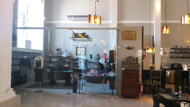 Lojinha no Museu da Moda, em Canela