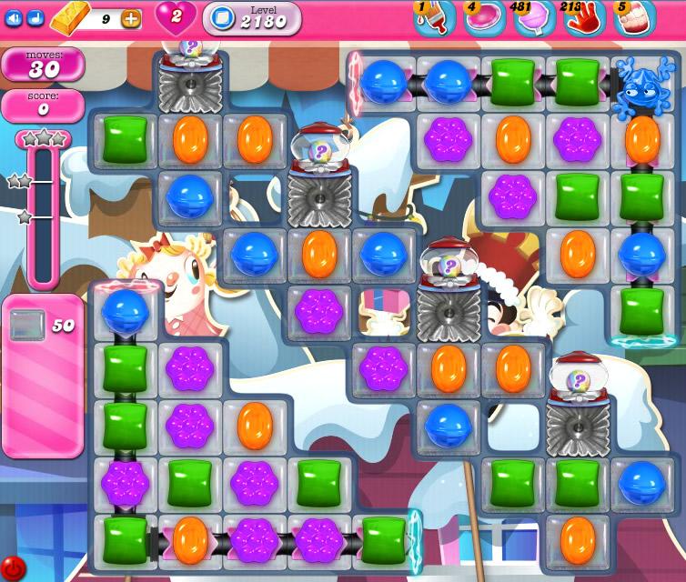 Candy Crush Saga level level 2180