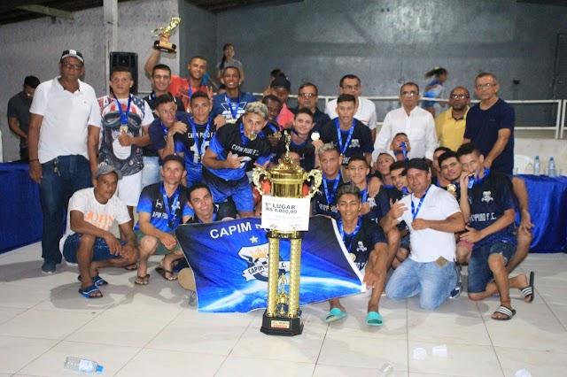 PINTOU CAMPEÃO: Após empate no tempo normal, Capim Pubo vence Alta Vista nos pênaltis e conquista Copão Rural em Elesbão Veloso.