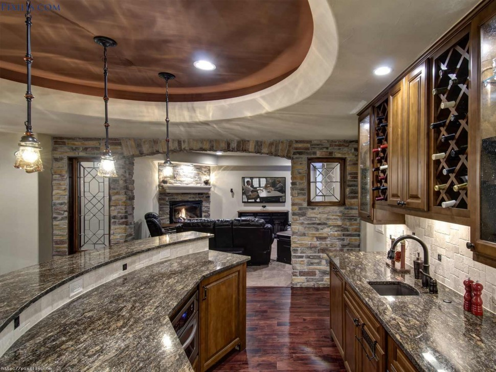 Amazing Places In The World Kitchen Amazing Home Bar Countertop