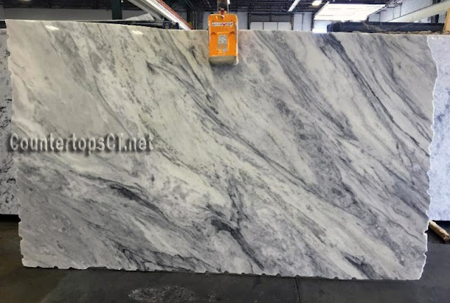 3cm Carrara Quartzite Approximate slab
