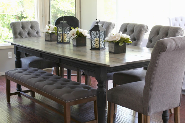 Rose & 10 Person 35 Dollar Diy Dining Table