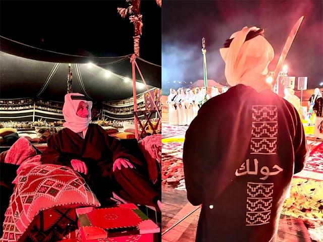 """السعودية ،  """"حولك"""".. """"فروة"""" وزير السياحة تربك التوقعات،السعودية ،  وزير السياحة أحمد بن عقيل الخطيب، حولك، حربوشة نيوز"""