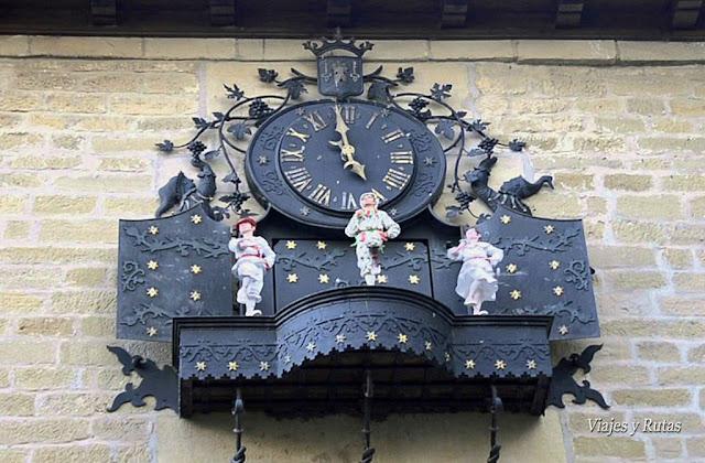 Reloj del ayuntamiento de Laguardia, Álava