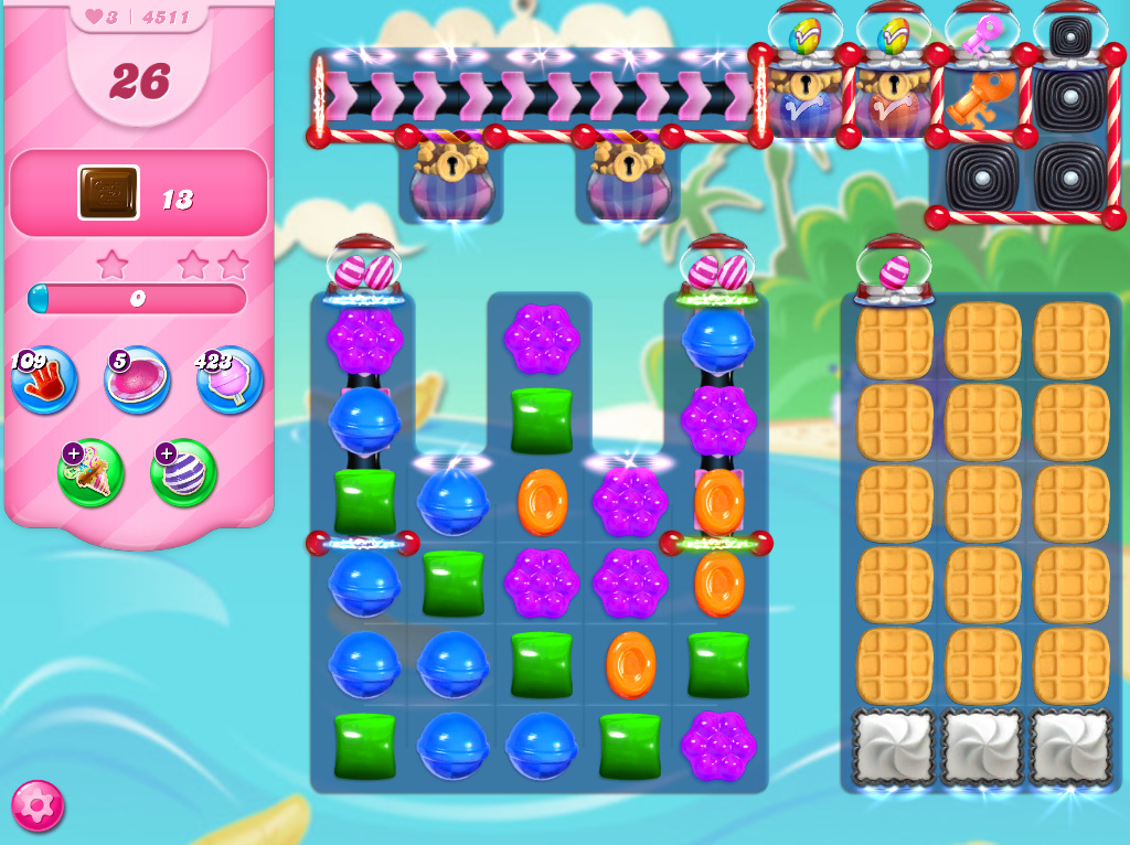 Candy Crush Saga level 4511
