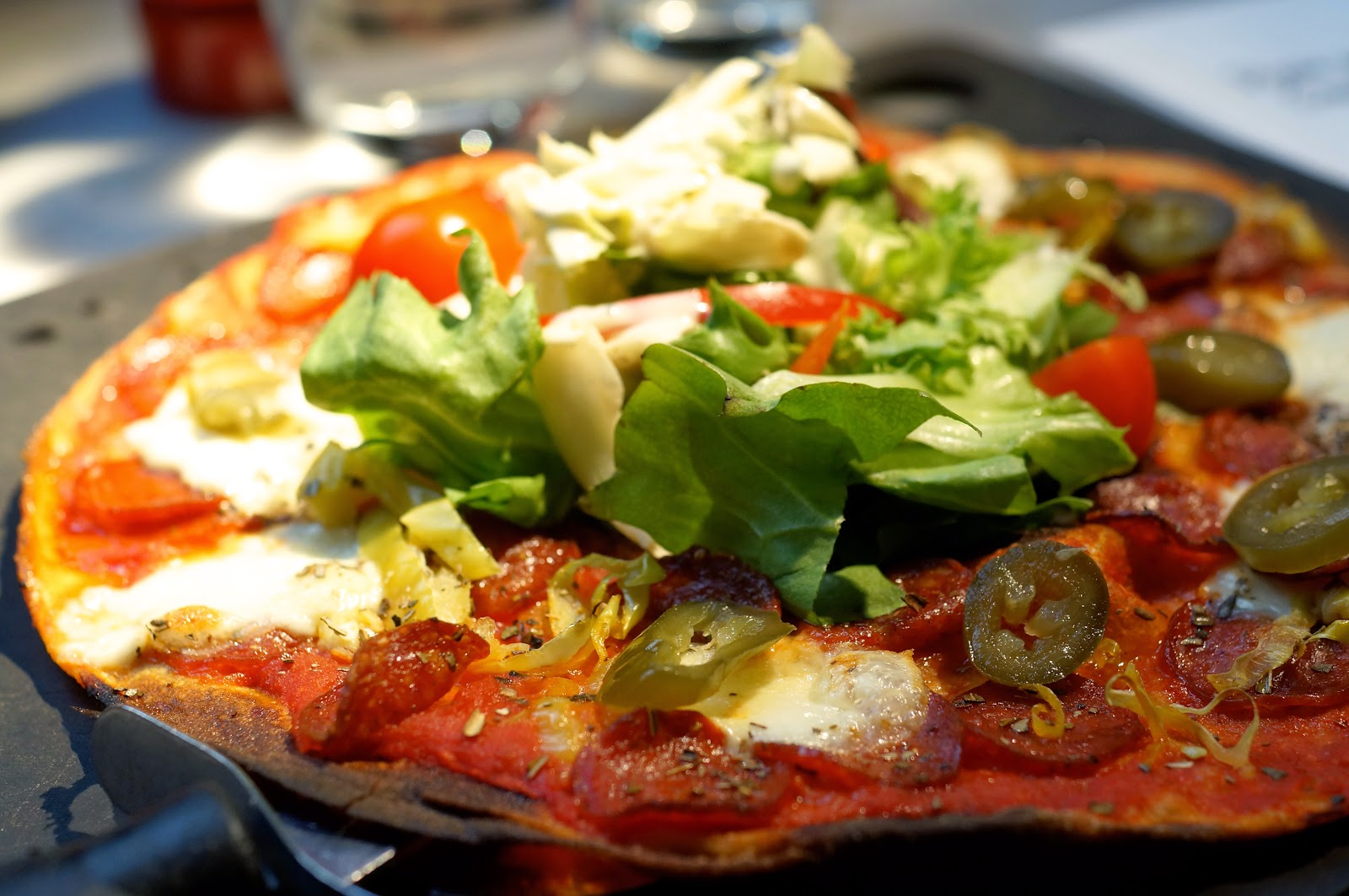 pizza express leggera pizza