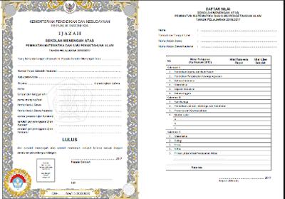 Download Juknis Penulisan Blanko Ijazah SD/SDLB/SMP/SMPLB/SMA/SMALB/SMK/SPK Tahun Ajar 2016/2017