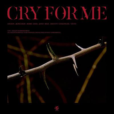 TWICE - CRY FOR ME lyrics lirik arti terjemahan hangul romanized indonesia english translations 歌詞 和訳 info lagu