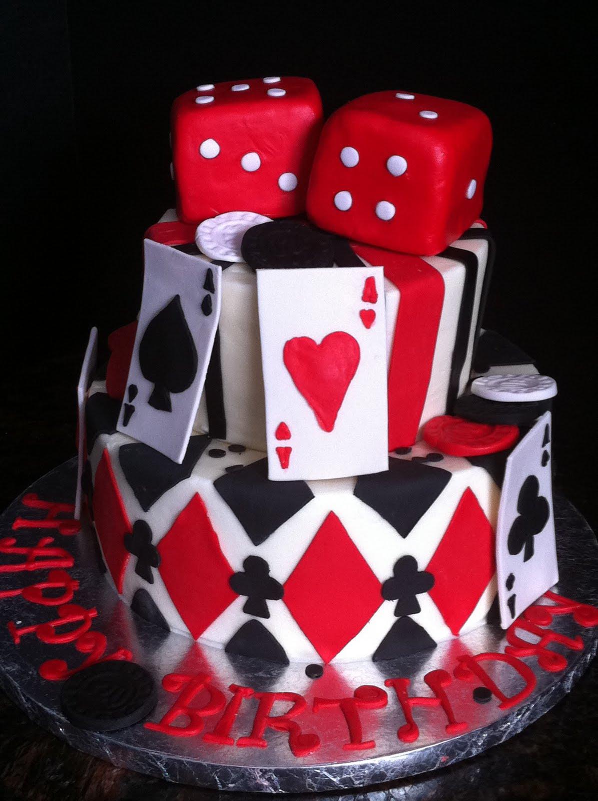 Casino Cake My Sweet Zepol