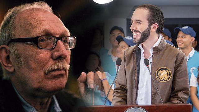 """Paolo Lüers lanza crítica contra """"La Bandera de la Alianza"""" con la que participará en las Presidenciales Bukele"""