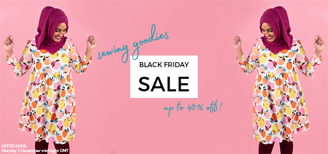 Tilly and the Buttons Black Friday 2019 sale!