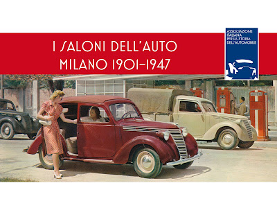 LIBRO AISA: I SALONI DELL'AUTO DI MILANO 1901-1947