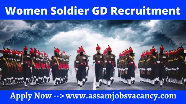 Indian Army Women Soldier GD Recruitment 2021