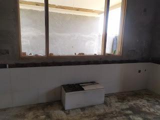 kitchen slab work
