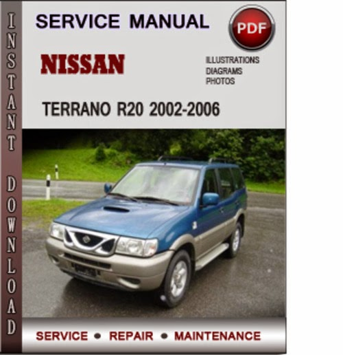 nissan terrano service manual
