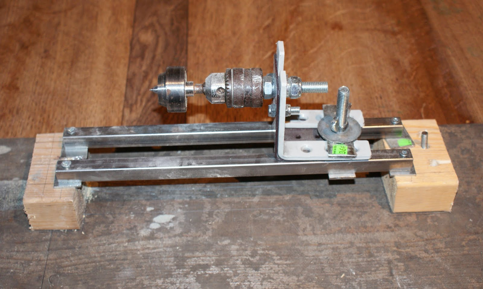 Homemade Lathe Wood 34