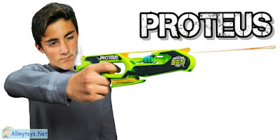 Super Impulse RBS Rubberband Toy Gun Proteus