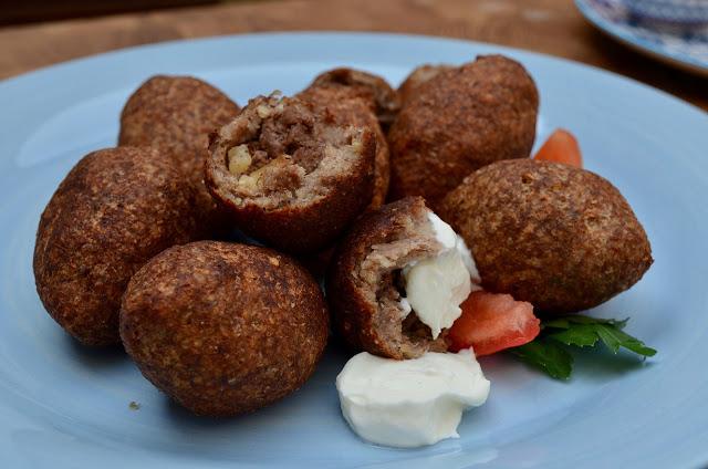 Fried kibbeh, Aleppo style