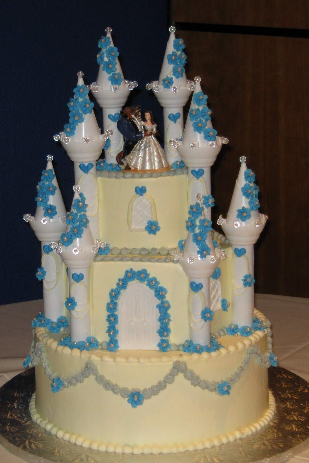 lighted beauty and the beast wedding cake topper and the beast wedding cake wallpaper 16858