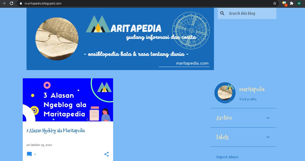 cara mudah membuat blogspot dengan tema emporio