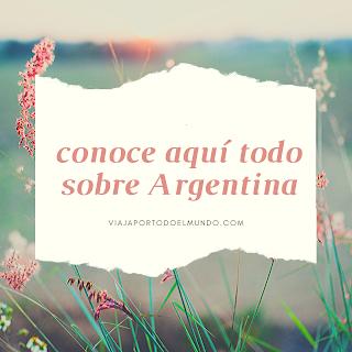 www.viajaportodoelmundo.com    Lugares turísticos por Argentina