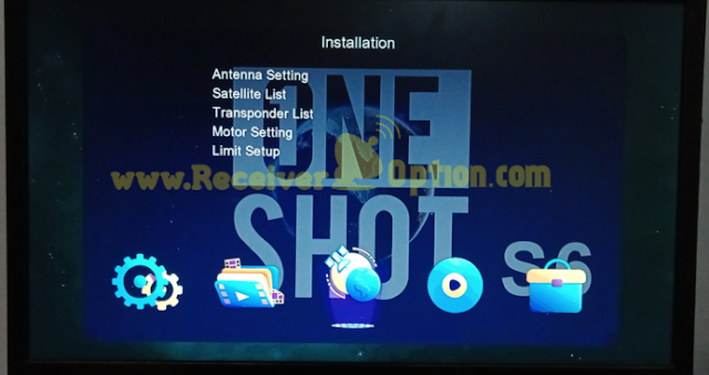 ONE SHOT S6 PLUS 1506TV NEW SOFTWARE 07 MAY 2021