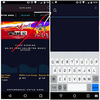 Ulasan seta fitur-fitur aplikasi terbaru langit musik