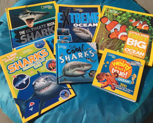 National Geographic Kids Shark-tastic Prize Pack Giveaway
