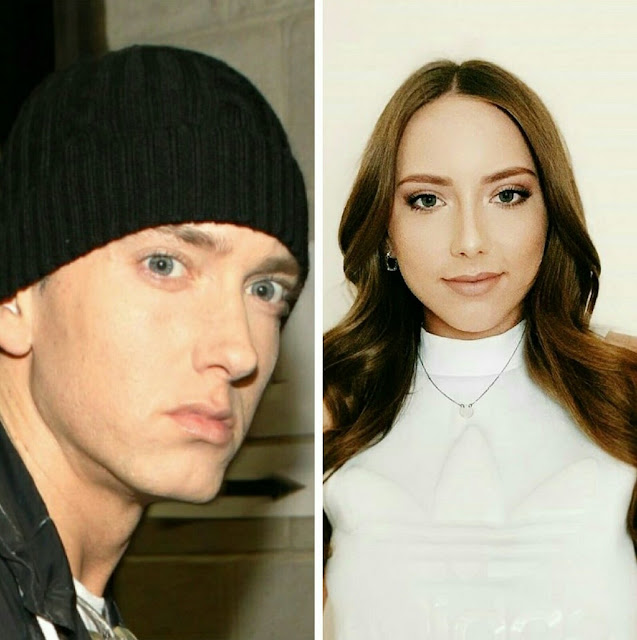 Eminem and Hayley Jade Scott