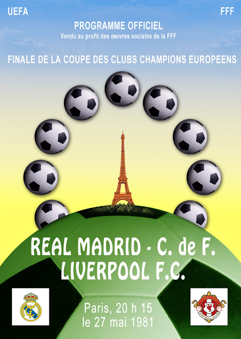 Finale coupe des clubs champions 1981 liverpool vs real - Football coupe d europe des clubs champions ...