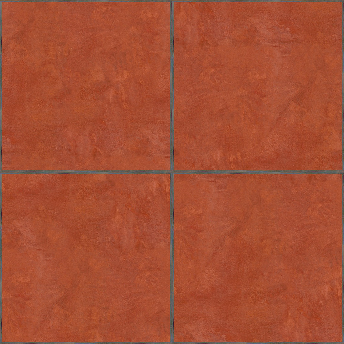 Seamless Terracotta Tiles Maps Texturise Free