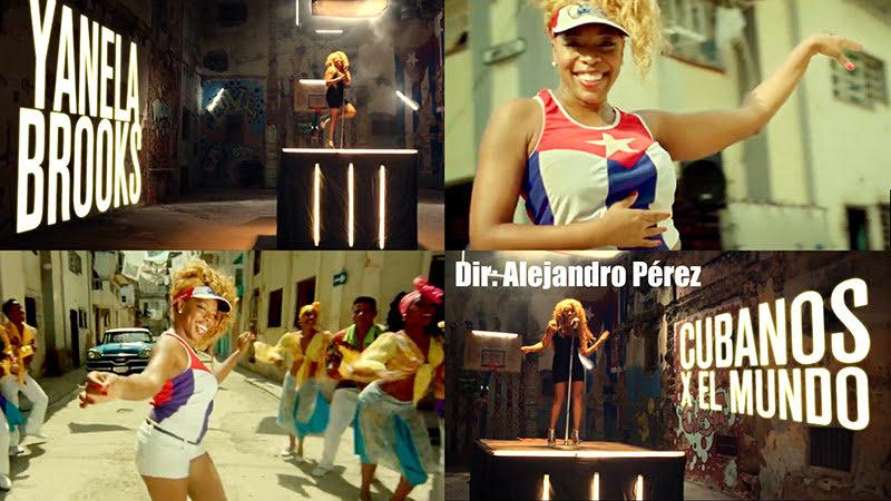 Yanela Brooks - ¨Cubanos por el mundo¨ - Videoclip - Dirección: Alejandro Pérez. Portal Del Vídeo Clip Cubano